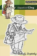 Explorer, Cling Style Unmounted Rubber Stamp PENNY BLACK - NEW, 40-212