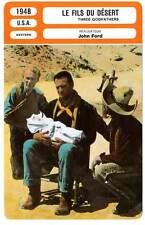 FICHE CINEMA : LE FILS DU DESERT - John Wayne,John Ford 1948 3 Godfathers