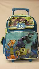 "Disney Monster University Backpack - Mike Sulley 16"" Large Rolling Backpack"