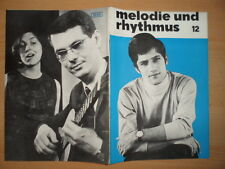 MELODIE UND RHYTHMUS 12/1968 Klaus Dieter Henkler Gisela Pohl + Werner Pauli
