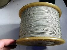 C O JELLIFF RESISTANCE WIRE DOUBLE SILK COVERED ALLOY 45  SIZE .0195