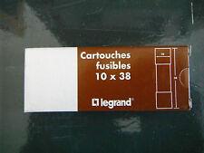 confezione n° 10 fusibili Legrand 10x38 1 A 500 v aM