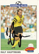 Ralf principal hombre Panini Action card 1.fc Dinamo dreden 1992-93 +a31239 original