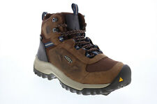 Keen Basin Ridge Mid 1023751 Womens Brown Nubuck Lace Up Hiking Boots Shoes 7