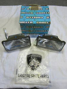 Lamborghini Jalpa Urraco Fog lights JOD Carello NOS in Box