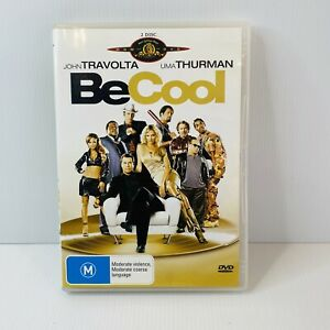 Be Cool (2x DVD, 2005) Region 4  John Travolta, Uma Thurman