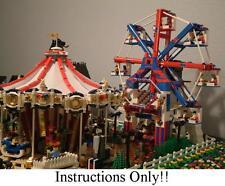 GET 100+ LEGO INSTRUCTIONS like FERRIS WHEEL for Lego 10244 Fairground mixer