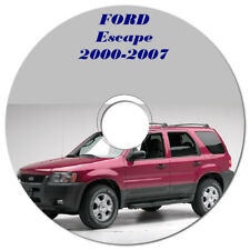 FORD ESCAPE 2000 - 2007 2.3L & 3.0L WORKSHOP MANUAL ON CD OR DOWNLOAD