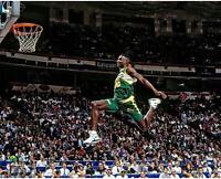 Shawn Kemp Seattle Supersonics NBA All-Star 1991 Slam Dunk Contest 16 x 20 Photo
