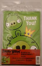 Angry Birds THANK YOU Cards Brand New 8 count