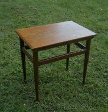 Vintage Drexel Heritage MCM Mid Century Modern Small Side Table Black Walnut