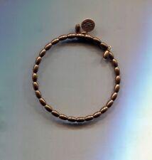 ALEX & ANI gold bronze beed wrap bracelet vintage 66