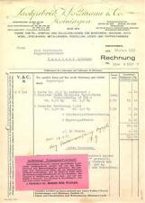 alte Rechnung, Meiningen Lackfabrik Vollmann 1933 #E708
