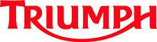 LOGO MOTO TRIUMPH x 2 in Vinile Adesivo Decalcomanie taglio 295 x 80mm-consegna gratuita nel Regno Unito