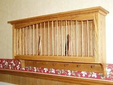 Plate And Mug Display Cabinet, Plate Rack With Mug Hooks, Large Plate Holder