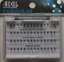 ( de nombreux 30) ARDELL DuraLash naturel knot-free Medium INDIVIDUEL NOIR Cils