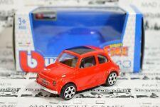 FIAT 500 1965 1:43 Red Toy Car Model Mniature Diecast Models Cars Die Cast