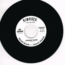 COY JACKSON - LOOKOUT HEART b/w BOB LUMAN - ENVY (HOT Country Rockabilly JIVERS)
