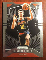 2019-20 Prizm De'Andre Hunter RC Hawks #251 Base Rookie Card Atlanta Hawks