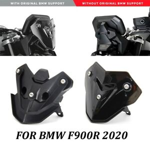 Windscreen Windshield Shield Screen with Bracket For BMW F900R Smoke Black white