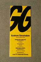 Golden Gate Airlines System Timetable - March 1, 1980 - More New Service