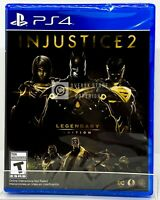 Injustice 2 Legendary Edition - PS4 - Brand New | Factory Sealed