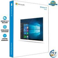 Windows 10 Home 32/64 Bit ✔ Clave de Licencia Original ✔ Activacion en Linea