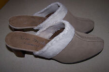 NEW YORK TRANSIT SUEDE TAN SHOES SZ 9.5 M NEVER WORN