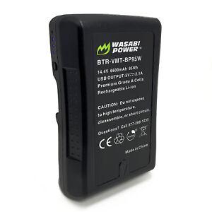 Wasabi Power V-Mount Battery (14.4V, 6600mAh, 95Wh)