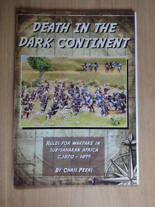 Chris Peers Death in the Dark Continent 1st Edition large scale wargame rules