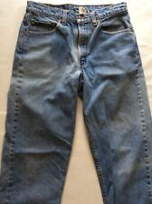 Vtg Levis 550 Red Tab Blue Denim Jeans Relaxed Fit Men's Size W32 x L34 USA