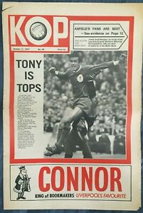 Liverpool FC  -  KOP Newspaper  -  October 11th 1967  -  Issue No 29
