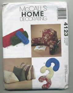 McCall's Home Decorating Pattern # 4123 Pillows