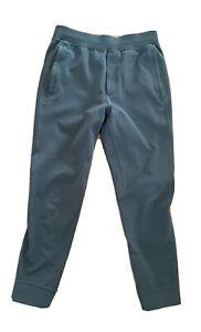 Lululemon mens Medium City Sweat Joggers Navy Blue Sweatpants awesome condition