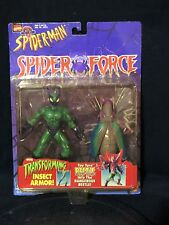 BEETLE with Transforming Insect Armor Spider-Man Spider Force Toy Biz 1997 Boxed