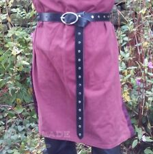 Leather Belt Larp Re-enactment Medieval Cosplay Costume Viking Game of Thrones