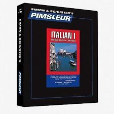 Pimsleur Italian Level 1 Comprehensive CDs - Learn to Speak Italian
