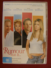 RUMOUR HAS IT - Jennifer Aniston, Kevin Costner R4 DVD Like New