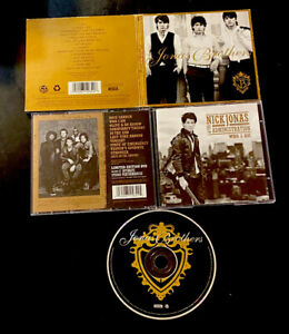 4 JONAS BROTHER, Nick CDs Self Titled Bonus Jonas, Who I Am, South Africa Import