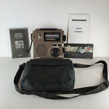 Grunding FR200 Emergency Shortwave Radio with Carrying Case Operation Manual