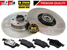 FOR RENAULT GRAND ESPACE 03-12 REAR BRAKE DISCS PADS WHEEL BEARINGS ABS RINGS