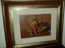 Quadro olio su tavola Donnini Umberto Livorno livornese