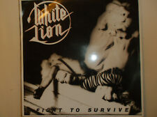 WHITE LION FIGHT TO SURVIVE VINYL.1985