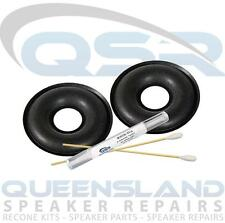 "3"" Foam Surround Repair Kit to suit Kef Speakers 102 103 104 107 (FS KEF DOUNUT)"