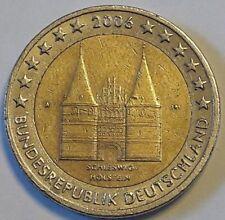 Deutschland 2 Euro Gedenkmünzen 2006 F Schleswig - Holstein aus Rolle Allemagne