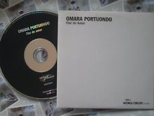Omara Portuondo – Flor De Amor World Circuit – WDWCD068  UK Promo CD ALBUM