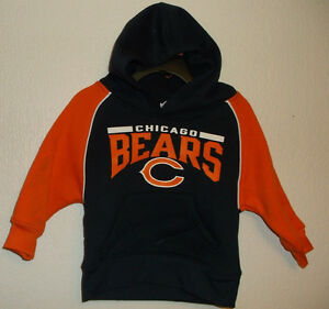 NFL Team Apparel Chicago Bears Hoodie Sweatshirt Choice 12 18 Month NWT