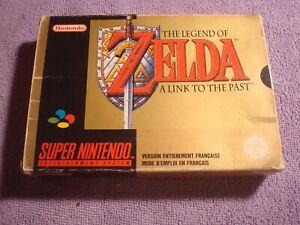 JEU Super Nintendo SNES The Legend Of Zelda : A Link To The Past PAL S/ Fra