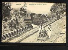 PORTUGAL 148.-MADEIRA -Elevador e carro do Monte