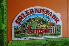 Alter Aufkleber Freizeitpark TRIPSDRILL Cleebronn